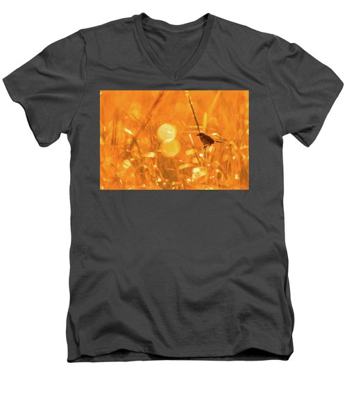 Marsh Sparrow Men's V-Neck T-Shirt