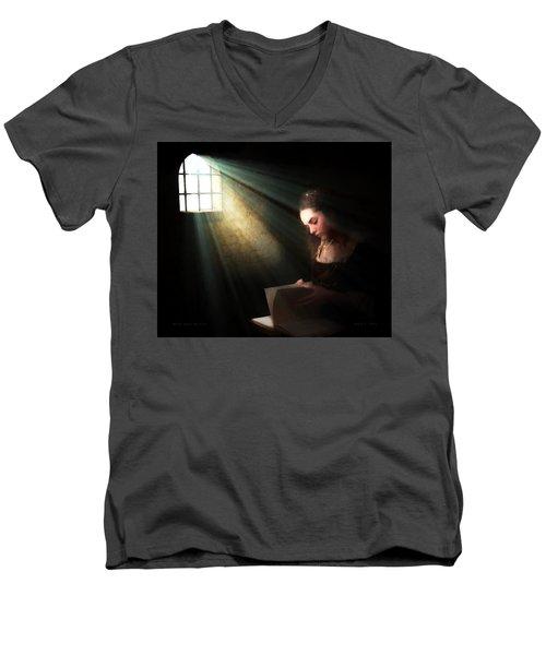 Mary, Queen Of Scots Men's V-Neck T-Shirt