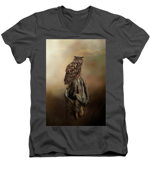 Master Of The Forest Men's V-Neck T-Shirt