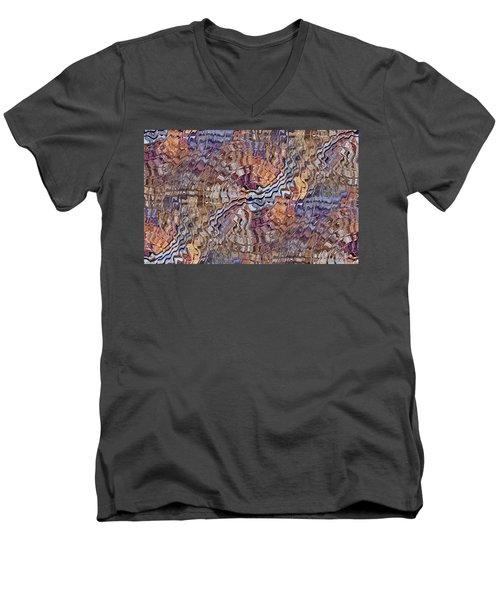 Matter Mixer Men's V-Neck T-Shirt