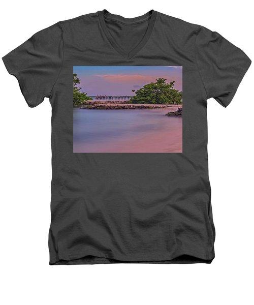 Mayan Shore Men's V-Neck T-Shirt