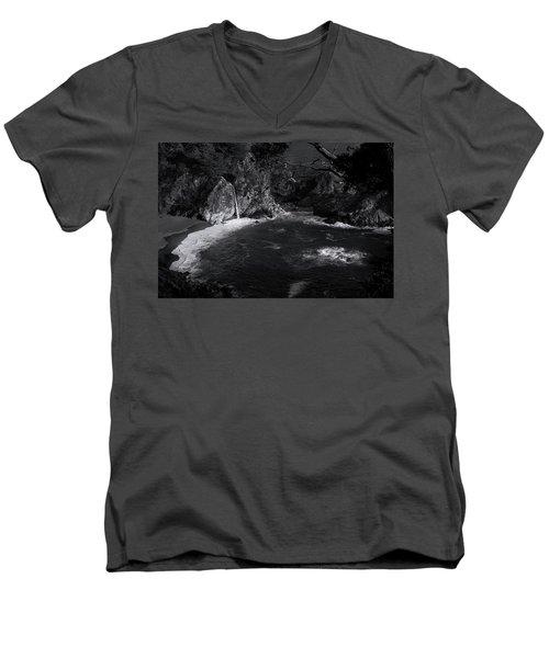 Mcway Falls Men's V-Neck T-Shirt