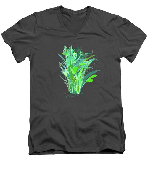 Melange Men's V-Neck T-Shirt