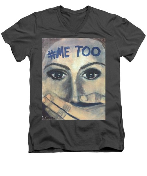 #me_too Men's V-Neck T-Shirt
