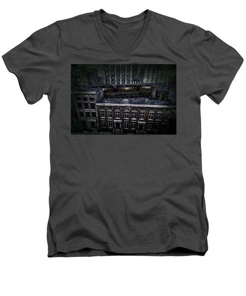 Midnight Train Men's V-Neck T-Shirt