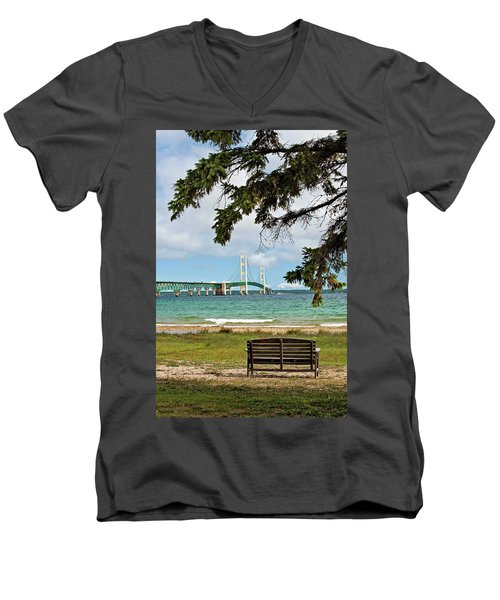 Mighty Mac Men's V-Neck T-Shirt
