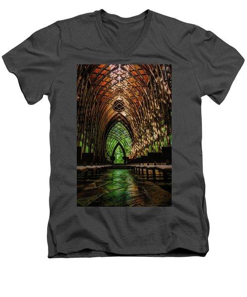 Mildred B. Cooper Memorial Chapel Men's V-Neck T-Shirt