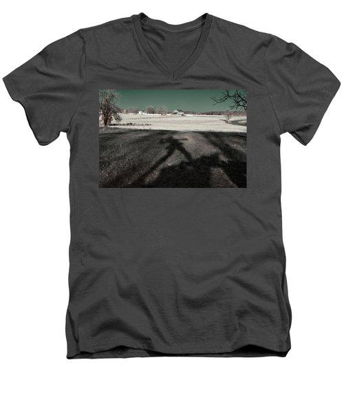 Mississippi Shadow Men's V-Neck T-Shirt