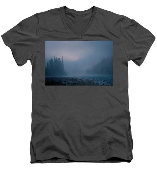 Misty Valley Men's V-Neck T-Shirt