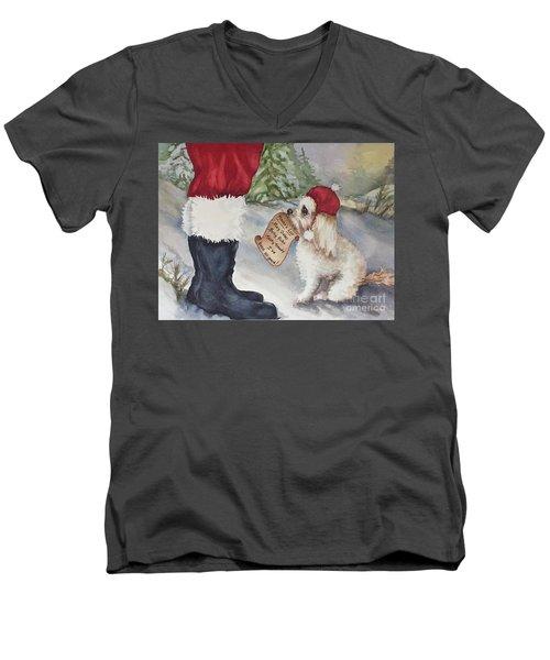 Mocha's List Men's V-Neck T-Shirt