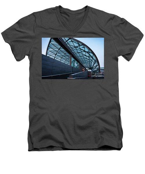 Modern Architecture Shell Men's V-Neck T-Shirt