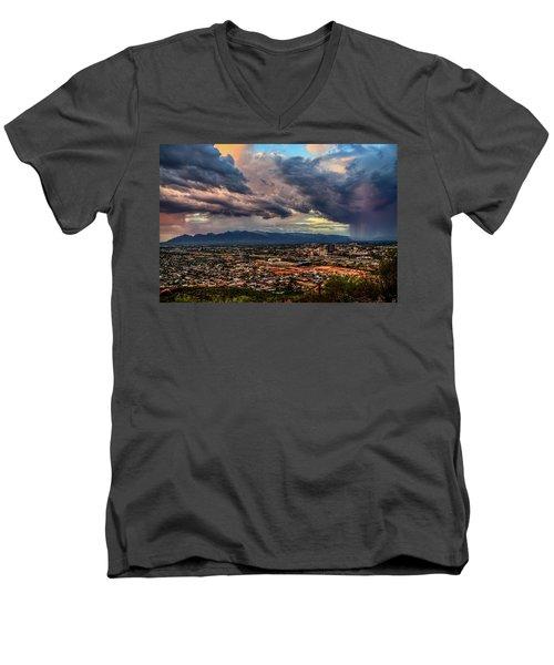 Monsoon Hits Tucson Men's V-Neck T-Shirt