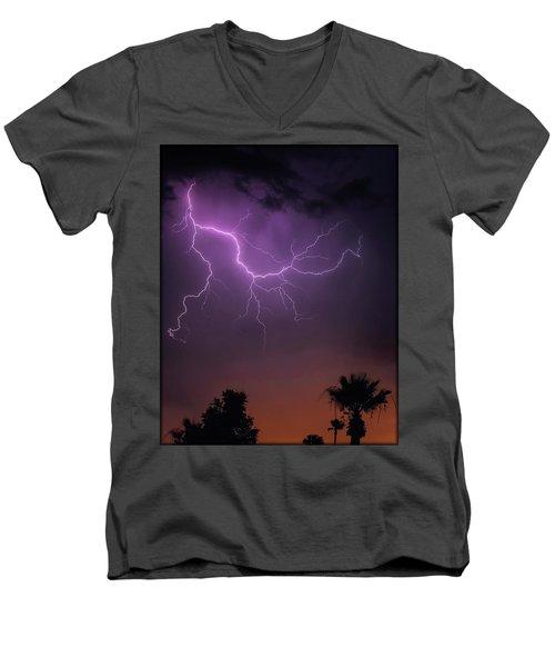Monsoon Sunset 2019 Men's V-Neck T-Shirt