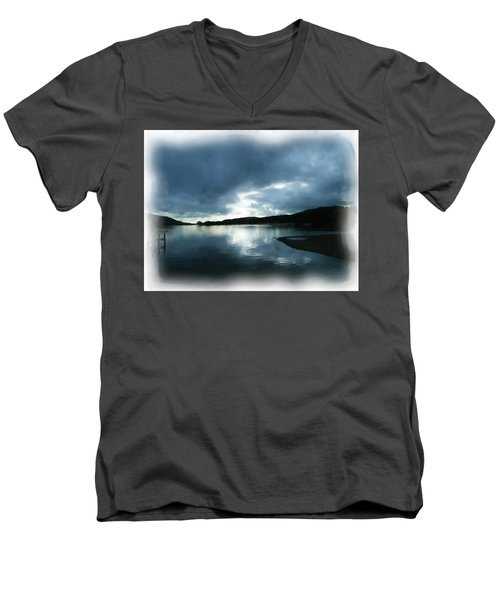 Moody Sky Painting Men's V-Neck T-Shirt