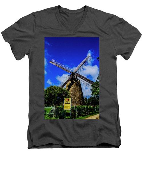Morgan Lewis Mill Men's V-Neck T-Shirt