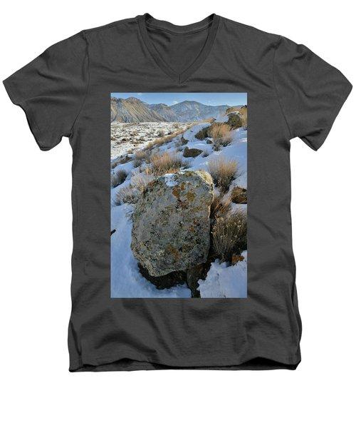 Morning At The Book Cliffs Men's V-Neck T-Shirt