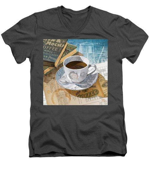 Morning Coffee Men's V-Neck T-Shirt