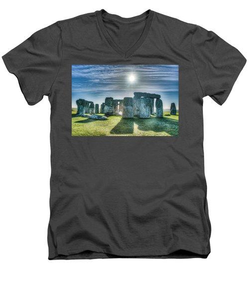Morning Hedge Men's V-Neck T-Shirt