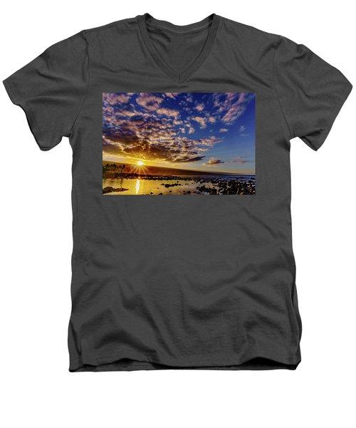 Morning Sunrise Men's V-Neck T-Shirt