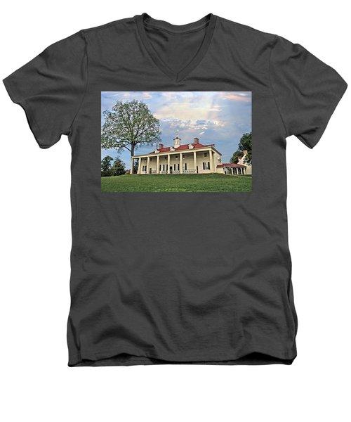 Mount Vernon Men's V-Neck T-Shirt
