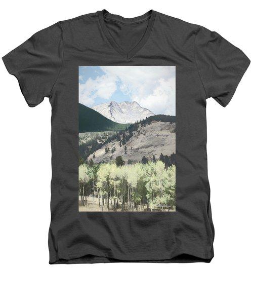Mount Ypsilon Men's V-Neck T-Shirt