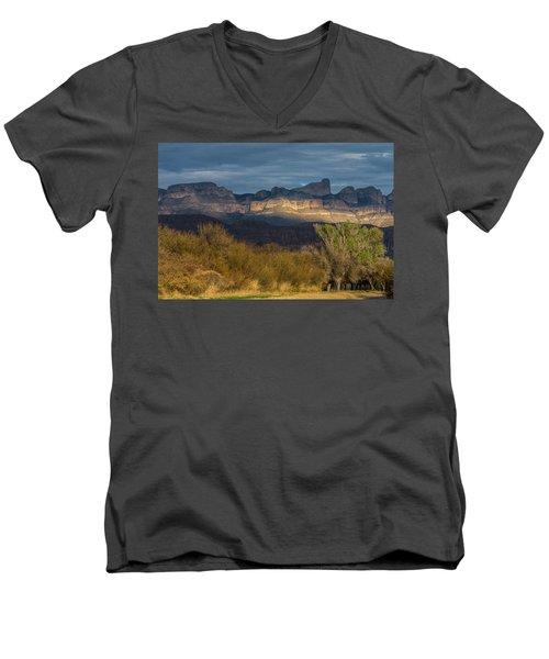 Mountain Illumination Men's V-Neck T-Shirt