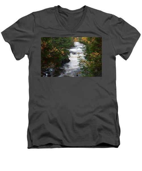 Moxie Stream Men's V-Neck T-Shirt