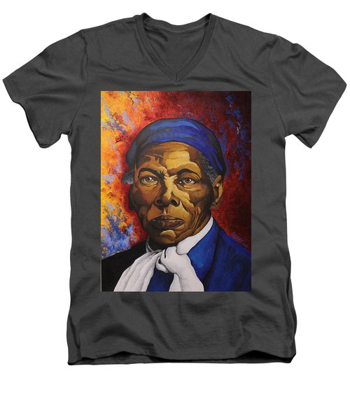 Ms. Tubman Men's V-Neck T-Shirt