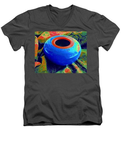 My Blue Bowl -  The  Gift Men's V-Neck T-Shirt