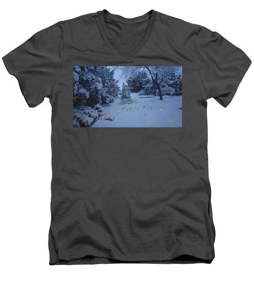 My Colorado Backyard Men's V-Neck T-Shirt