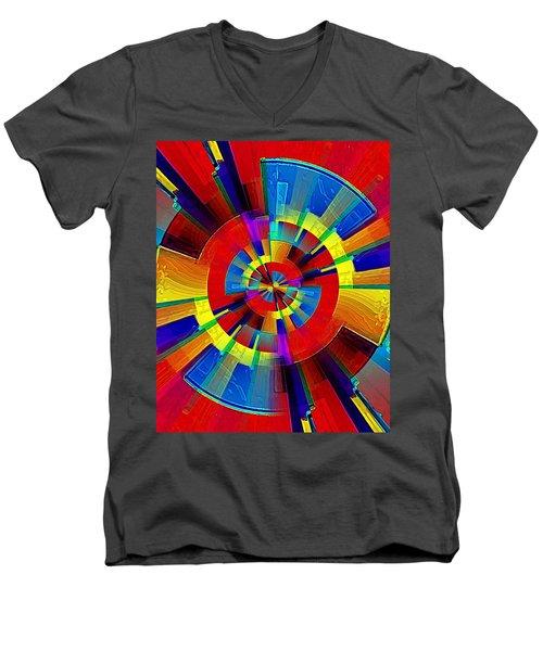 My Radar In Color Men's V-Neck T-Shirt