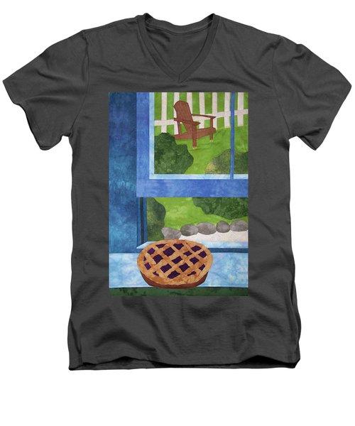 My Soul In A Blackberry Pie Men's V-Neck T-Shirt