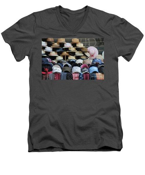 Naples Men's V-Neck T-Shirt