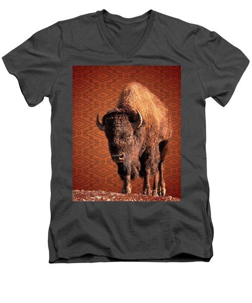 Native Men's V-Neck T-Shirt