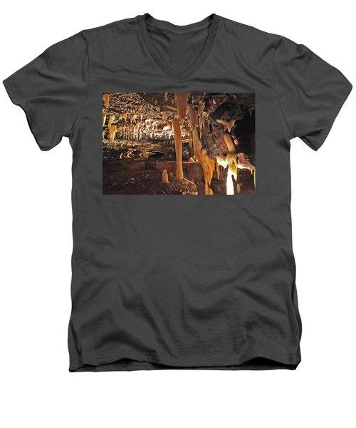 Natural Tunnel Men's V-Neck T-Shirt