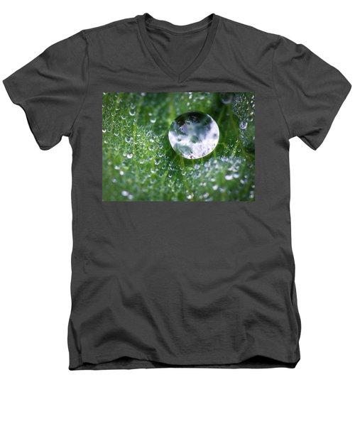 Natures Crystal Ball Men's V-Neck T-Shirt