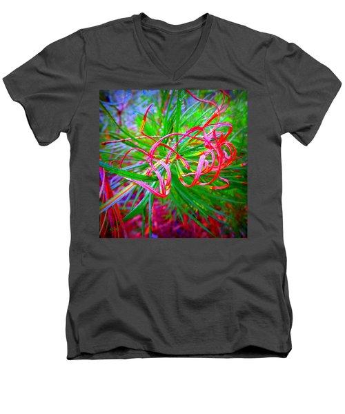 Nature's  Ribbons Men's V-Neck T-Shirt