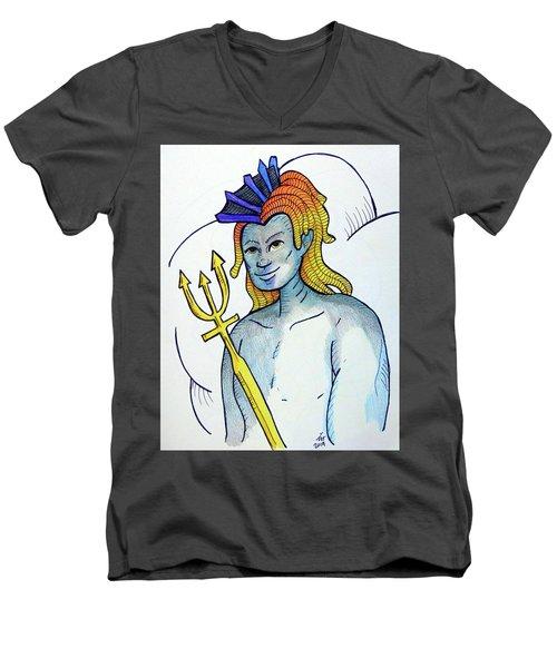 Neptune  Men's V-Neck T-Shirt