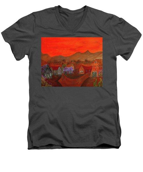 New Mexico Dreaming Men's V-Neck T-Shirt