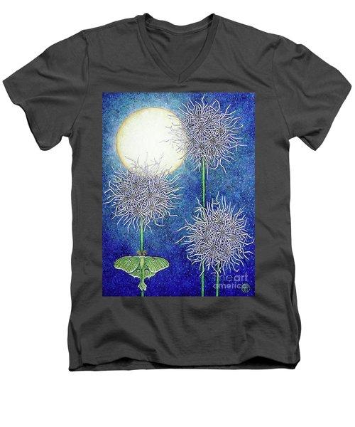 Night Garden 2 Men's V-Neck T-Shirt