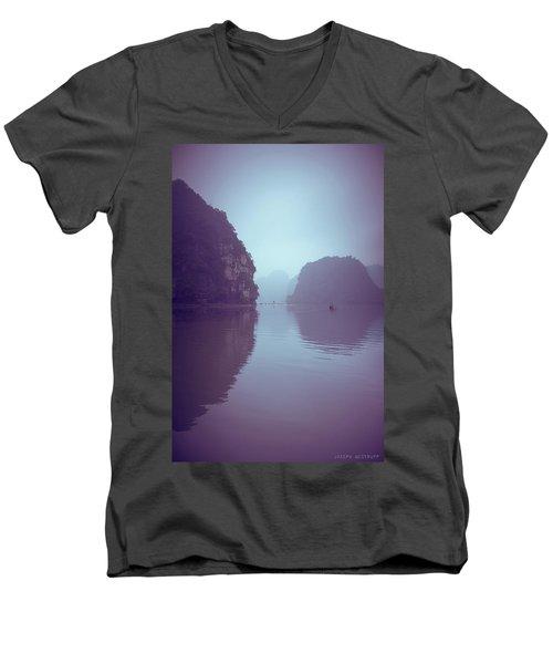 Ninh Binh River Men's V-Neck T-Shirt