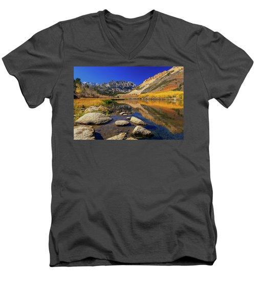 North Lake Men's V-Neck T-Shirt