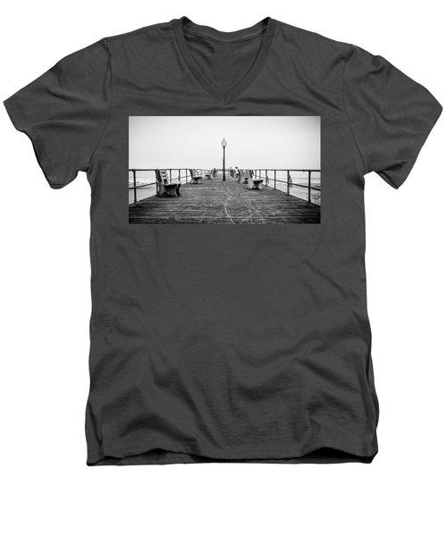 Ocean Grove Pier 1 Men's V-Neck T-Shirt