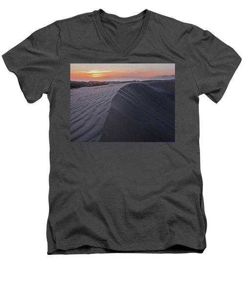 Oceano Dunes Sunset Men's V-Neck T-Shirt