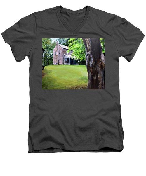 Oconee Station Men's V-Neck T-Shirt