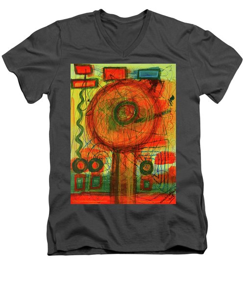 Ode To Autumn Men's V-Neck T-Shirt