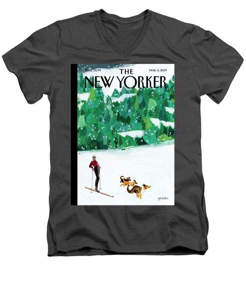 Off The Path Men's V-Neck T-Shirt