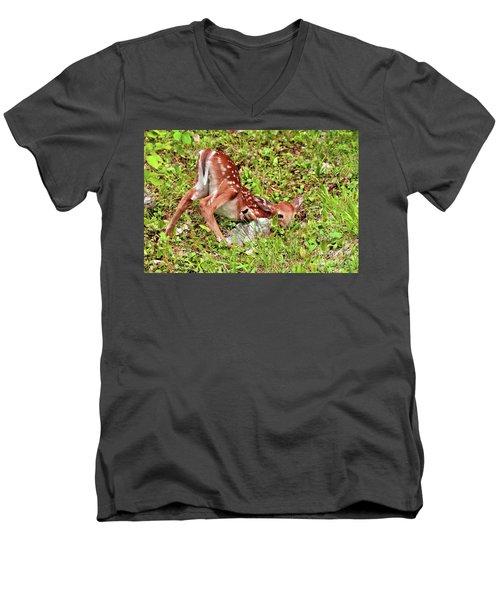 Oh Deer Men's V-Neck T-Shirt