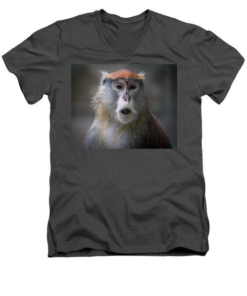 Oh No Men's V-Neck T-Shirt
