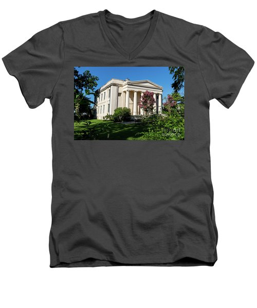 Old Medical College - Augusta Ga Men's V-Neck T-Shirt